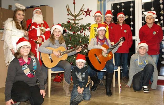 2013-12-21 jrk WeihnachtenSeniorenzentrumFriedewald