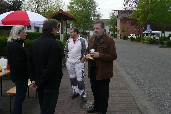 Bürgermeister Gensler (re.)